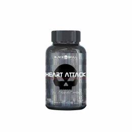 Heart Attack - Black Skull - (60 Caps)