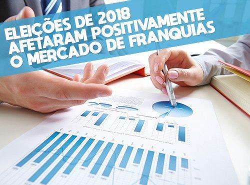 As eleições de 2018 afetaram positivamente o mercado de franquias