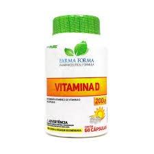 dVitamina D3 Pure 5mcg (200 IU 60 Caps)