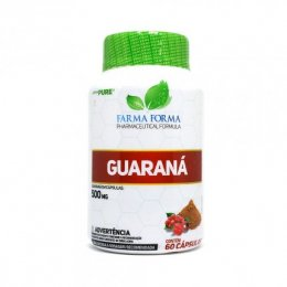 Guaraná 500mg (60 Caps)