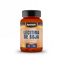 Lecitina de Soja 500mg (60caps)