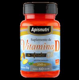 Vitamina D 250mg (60 Caps)