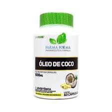 Óleo de Coco 1000mg (60 Caps)