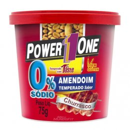 Amendoim Zero Sódio Sabor Churrasco (75g)
