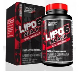 Lipo 6 Black Ultra Concentrate (120 caps)