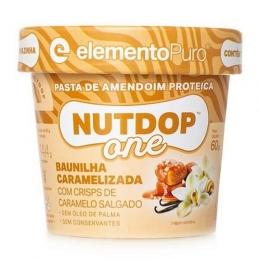 Nutdop One Pasta de Amendoim (60g) Elemento Puro - Baunilha Caramelizada
