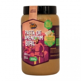 PASTA DE AMENDOIM (550G) - Chocolate Branco