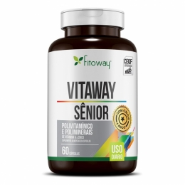 Vitaway Sênior Fitoway Clean – 60 cáps